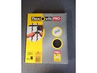 New FLEXOVIT Pro Extra Coarse Sandpaper - 25 sheets