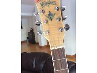 Washburn electro acoustic guitar