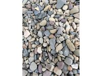 Multi mix garden and driveway chips/stone