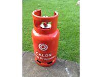 Calor gas bottle 6 kg propane full and unused