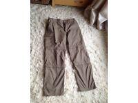 Craghopper Mens walking trousers