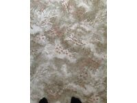 Living room carpet, axminister , good condition,