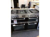 Leisure cuisinemaster 110cm range cooker new graded 12 mth gtee