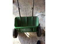 Scott's seed spreader