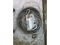 400 kg Winch for sale with 8mtrs of wire