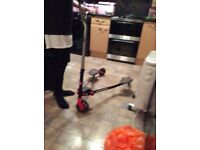 Red ski scooter very good condition cost £129.99 sell £40 pds