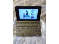 HP 2133 small notebook, 120gb hd, 2gb ram, 1.20ghz Via processor win7