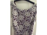 *Untold * fully lined dress size 8