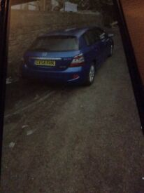 Breaking Honda Civic 1.7 diesel blue 54 reg