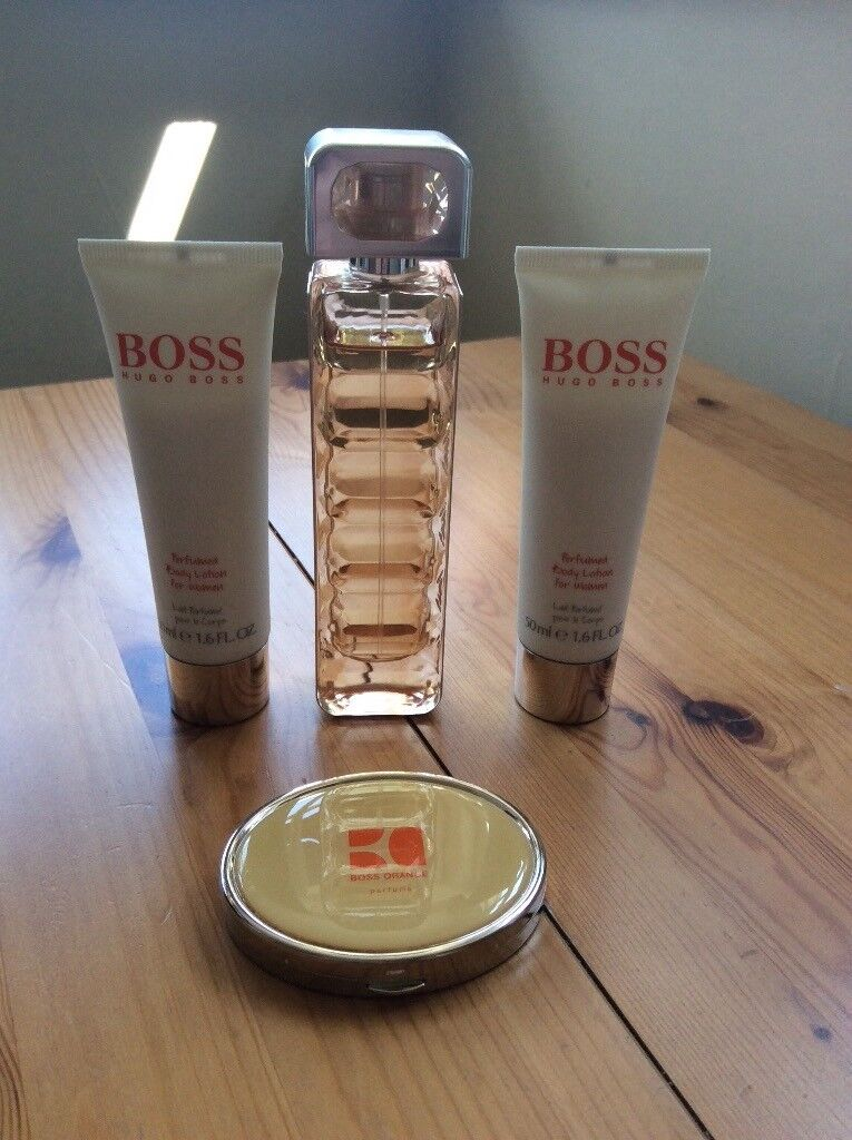 Hugo Boss Orange Woman 50ml Eau De Toilette With Body Lotion And