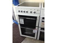 Flavel Milano E50 white cooker. £239 RRP £299 new/graded 12 month Gtee