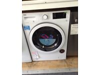 Beko white washer /dryer £300 RRP £389 new/graded 12 month Gtee