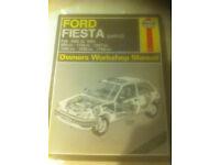 Haynes Workshop Manual For Ford Fiesta Mk 3, 89-93