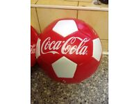 FOOTBALL SIZE 5 BRAND NEW WITH ADAPTER