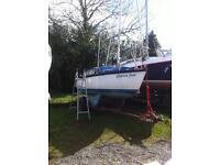 Vivacity 21 yacht