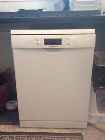 Bosch free standing dishwasher with 3 years extended warranty