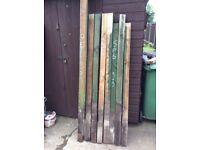 Timber 3x3 posts