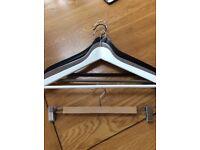 Wooden Coat Hangers - job lot of 250