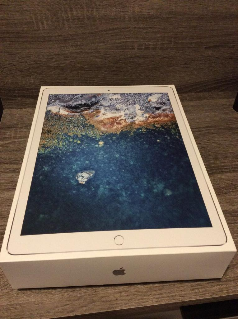 "NEW iPad Pro 12.9"" silver 64GB 2nd gen"