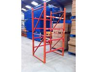 REDIRACK HEAVY DUTY INDUSTRIAL COMMERCIAL WAREHOUSE MINI PALLET RACKING UNIT BAY