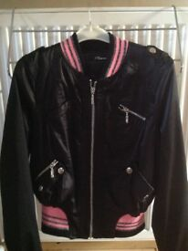 Girls silky jacket