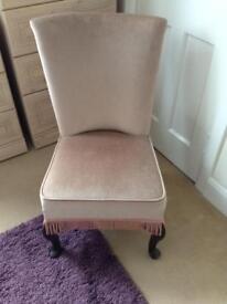 Small Velvet Chair