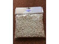 Pearl beads unopened 100gram pack
