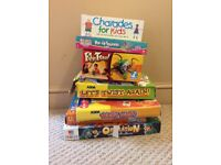 Board games - Charades For Kids, Pop Up Squinkies, Fly Trap, Lets Twist Again, Who's Who & Operation