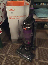 VAX Air Vacuum Upright cleaner.