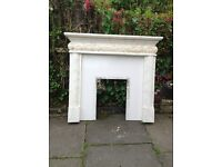 Fireplace surround complete with back £125