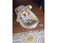 Fisher-Price Woodsy Baby bouncer for sale £10
