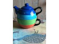 Whittard of Chelsea Hand painted tea for one
