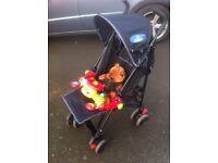 Babystart buggy / pushchair , including raincover