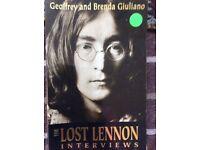 John Lennon - Lost Interviews book