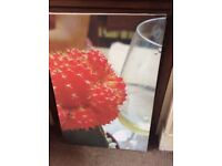 Cool Canvas Painting, Wine O Clock, Signed