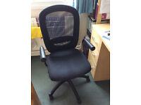 Desk chair (IKEA Flintan) black