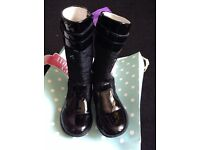 Girls designer boots , infant size 7