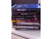 Ps3 slimline and 9 games