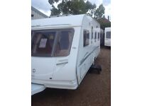 Sterling Eccles Jewel 2006 4 berth fixed bed with motor