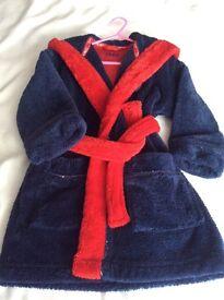 Boys dressing gown 3-4 yrs - Thomas tank engine- AL2