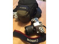 Canon SLR EOS Rebel 2000/EOS 300 Film Camera kit zoom with Lens 28-90 mm with bag and films