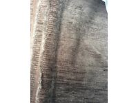 Upholstery grey chenille fabric - 6 metres