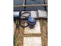 Koi fish and pond equipment