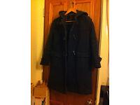 Unisex Vintage Woollen duffle coat