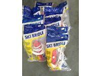 9 Wellington Ski Bridle packs .Unused packages