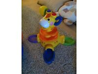 Fisher Price Go Baby Go Sit-to-Stand Giraffe Activity Tower