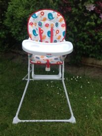 Highchair in lovely condition, box included