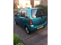 Suzuki wagon r+2001 full years mot only 48000 miles very good tyres also very reliable.