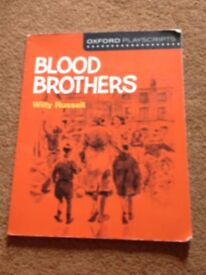 Blood brothers oxford playscript