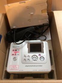 Sony digital photo printer